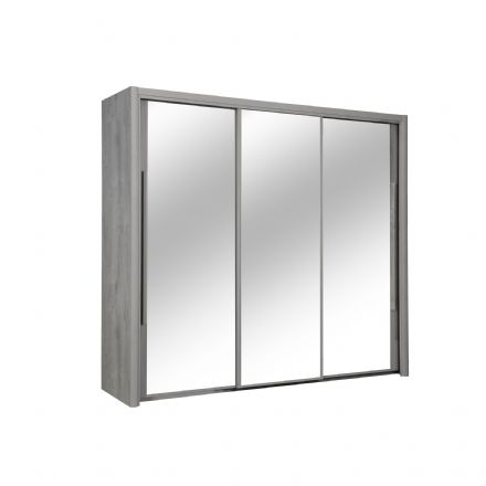 Cyrus Mirrored Sliding Door Wardrobe 199 Wide